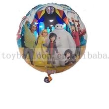 18' nueva llegada globo gran héroe globo de la hoja