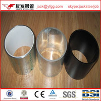 100mm ms gi single pipe by LGJ