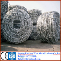 hot dip galvanized barbed wire for sale for Tunisia market
