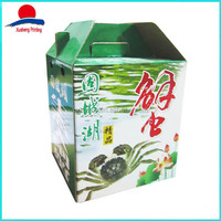 High Quality Custom Printed Egg Cartons