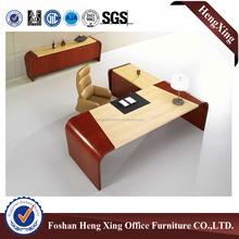 Excellent mancraft wooden veneer office desk & luxury office desk HX-NT3016
