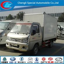 High quality mini van truck Yuling 2T mini truck freezer