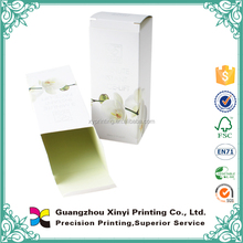 Matt laminated small paper essential oil packaging boxes