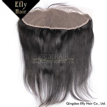 Factory Price Wholesale Natural Black Middle Parting Virgin Brazilian Straight Lace Closure