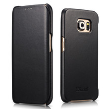 New Arrival Leather Phone Case For Galaxy S6 Edge