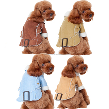 denim dog jackets