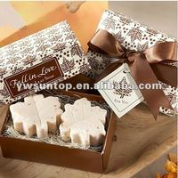 Fall in Love Scented Leaf Shaped Wedding favors promotion gifts