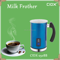 stainless steel nespresso electric milk frother (CIDX-250BB)