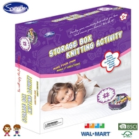 Knit storage box,make your own storage,baby storage