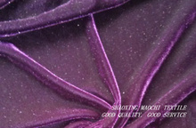 100% polyester non inverted velvet for sofa clothes and curtain decorations