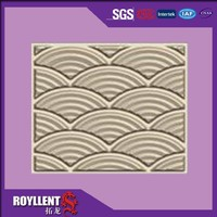 Modern style interior bamboo 3d wall panel for decoration in China 500*500mm