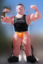 giant anime character Fair promotional inflatable Muscle Man