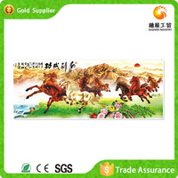 Exporter Of Art Diy Painting Cross Stitch Diamond Eight Horses Oil Painting