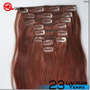 100% Human Hair New Products Made In China Snap Clips For Hair Extension