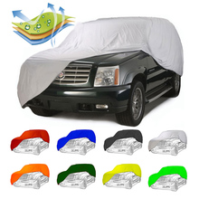 2-sides stretch fabric car cover waterrpoof car cover outdoor car cover