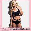 Whole New Fashion Sexy Women Swimwear Two Piece Swimsuits Bandage Black Girl Bikini