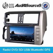 Audiosources mitsubishi pajero car dvd gps navigation system for Toyota Prado