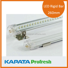 OEM 260mm 4w led rigid bar, easy installation led strip lighting for deli cabinet