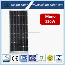 Panels Solar Fotovoltaica 12V 150W Mono Solar Panel
