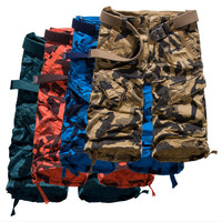 1 pc sale good quality new design hot sale cheap price China made military camouflage 3/4 men short pants