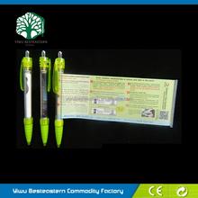Banner Gift Ball Pen, Banner Pen With Cord, Calendar Pen