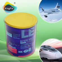 Non-Clog car filler used for Vehicle repair Gallon/polyester putty for furniture
