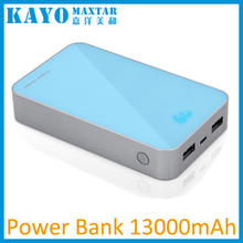 S16 12000mAH 13000mAh hot sale power bank external battery charger portable mobile phone charger
