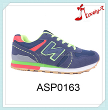 Woman latest design air sport shoes 2015 factory price sport sneaker brand