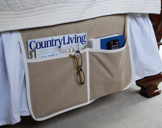 Bed Caddy Organizer Organizer Bedside Caddy