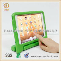 Hot selling drop proof EVA stand and handle rotatable cover for ipad mini