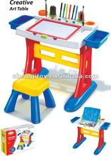 Creative kid learning table