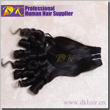 8-18 Inch Angels Hair Weaves for Black Woman Hairstyle 6a Funmi Hair