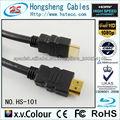 cable HDMI barato, macho a macho, compatible con HDTV / PC / Consola de juegos / cine en casa