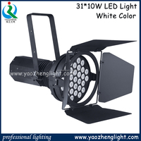 Car/Motor/Auto show LED par lighting 31*10W white leds