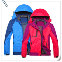fashion waterproof breathable technology ski jacket for men and women