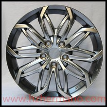Silver casting aluminum alloy wheel rims for Toyota 18