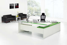 2012 hot-selling modern and simple and elegant design wood executive table furniture