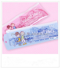 Hot Sell! New Style Student's Cute Fresh Plastic Transparent Gift Ruler