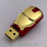 Promotional Good quality iron man 256gb usb flash drive