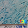 Water based stone effect external wall coating