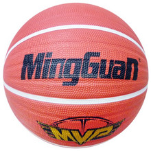 Rubber Basketball Size 7# 6# 5# 4# 3# 2# 1#
