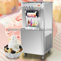 upright fresh yogurt ice cream maker machine
