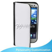 Sublimation leather wallet phone Case PU wallet 2d 3d animel bear mobile phone case For Samsung