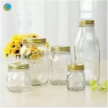 Honey pot/jam jar/glass container/pickles bottles
