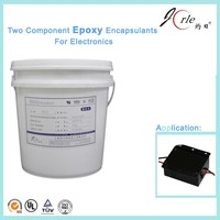 Top quality two component heat resistance epoxy transparent adhesive glue