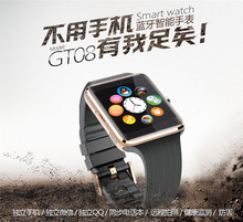 New design 1.54 inch LCD touch screen GSM smart wrist watch for android and Ios phone