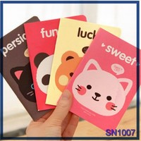 new stationery products sweet cat custom design print lovely animal picture buy notebook in china