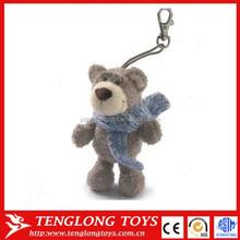 Custom Animals Plush Teddy Bear Toys Plush Keychain