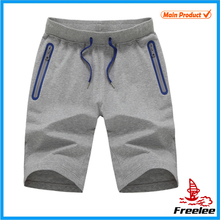 2015 Wholesale running sweat shorts, gym shorts for man