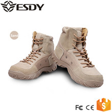 Military Combat Outdoor Sport Boots Hiking Autumn Shoes Travel Leather Boots Male